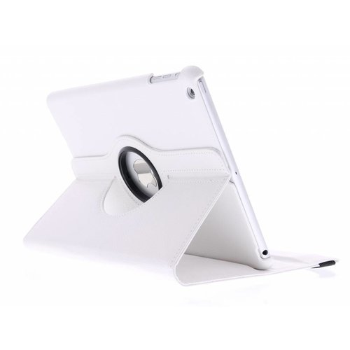iPad Air 2 9.7 inch 360° Rotating Case - Roterende Hoes - Wit