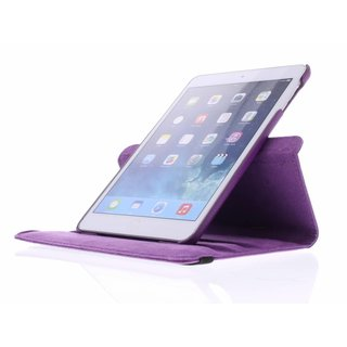iPad Mini 1 360° Rotating Case - Roterende Hoes - Roze / Paars