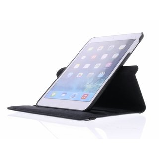 iPad Mini 2 360° Rotating Case - Roterende Hoes - Zwart / Wit