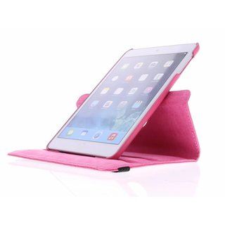 iPad Mini 2 360° Rotating Case - Roterende Hoes - Roze / Paars