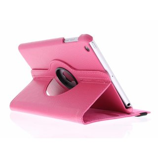 iPad 2 360° Rotating Case - Roterende Hoes - Roze / Paars