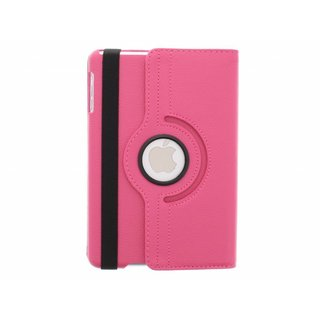 iPad 4 360° Rotating Case - Roterende Hoes - Roze / Paars