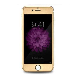 Apple iPhone 6 / 6S Screenprotector Titanium Alloy Fullscreen - Glas - Goud
