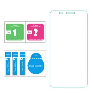 LG L10 Screenprotector - Glas