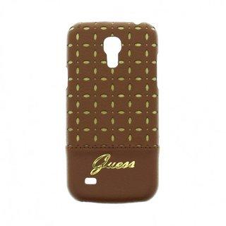 Samsung Galaxy S4 Mini I9190, I9192 en I9195 Originele Gianina Hardcase achterkant hoesje - Bruin