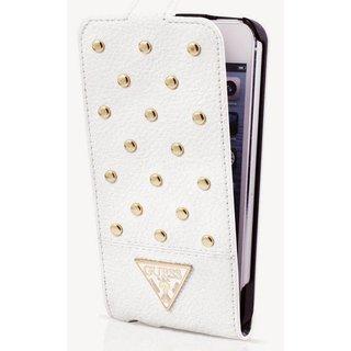 Originele Tessi Folio Flipcase hoesje - Wit voor de Samsung Galaxy S5