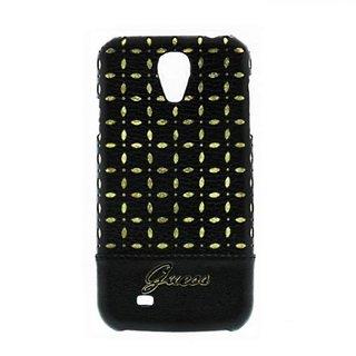 Originele Gianina Hardcase achterkant hoesje - Zwart voor de Samsung Galaxy S4