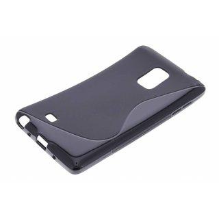 Samsung Galaxy Note Edge S-line siliconen (gel) achterkant hoesje - Zwart / Rood / Blauw