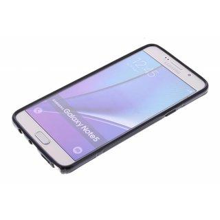 Samsung Galaxy Note 5 siliconen S-line (gel) achterkant hoesje - Zwart / Blauw / Roze