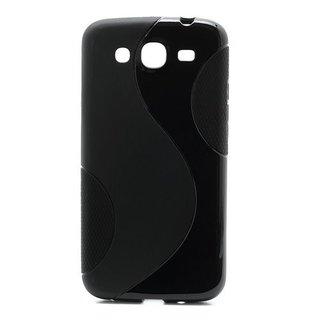 Samsung Galaxy Mega 5.8 siliconen S-line (gel) achterkant hoesje - Zwart