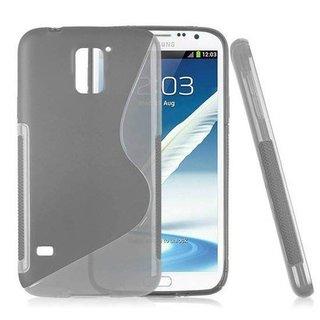Samsung Galaxy S5 siliconen S-line (gel) achterkant hoesje - Grijs