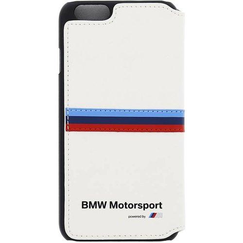 BMW Motorsport Originele Bookcase Hoesje voor de Apple iPhone 6 / 6S - Wit