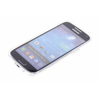 Samsung Galaxy S4 Mini siliconen (gel) achterkant hoesje - Transparant