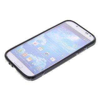 Samsung Galaxy S4 siliconen S-line (gel) achterkant hoesje - Zwart / Roze / Blauw