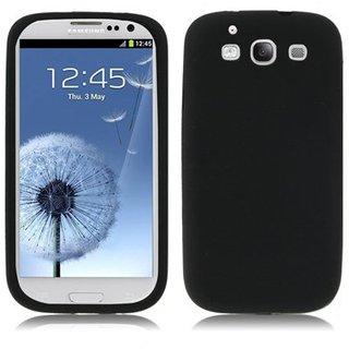 Samsung Galaxy S3 siliconen (gel) achterkant hoesje - Zwart