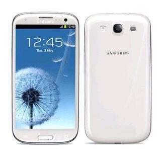Samsung Galaxy S3 siliconen (gel) achterkant hoesje - Wit