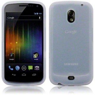 Samsung Galaxy Nexus siliconen (gel) achterkant hoesje - Transparant