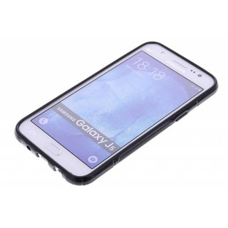 Samsung Galaxy J5 siliconen S-Line (gel) achterkant hoesje - Zwart