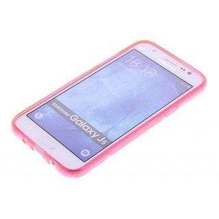 Samsung Galaxy A7 siliconen S-Line (gel) achterkant hoesje - Roze