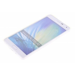Samsung Galaxy A7 siliconen (gel) achterkant hoesje - Transparant