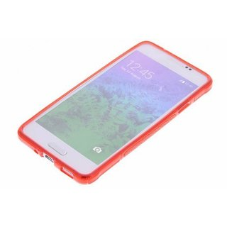 Samsung Galaxy Alpha siliconen S-Line (gel) achterkant hoesje - Rood