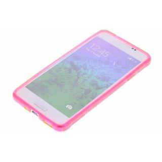 Samsung Galaxy Alpha siliconen S-Line (gel) achterkant hoesje - Roze