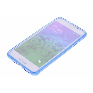 Samsung Galaxy Alpha siliconen S-Line (gel) achterkant hoesje - Blauw
