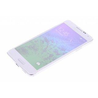 Samsung Galaxy Alpha siliconen (gel) achterkant hoesje - Transparant