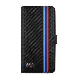 M collectie Carbon Bookcase hoesje met strepen voor de Samsung Galaxy S6