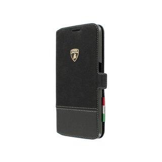 Huracan SC-D1 Bookcase hoesje voor de Samsung Galaxy S6 - Zwart
