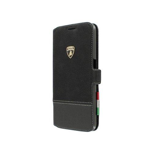 Automobili Lamborghini Huracan SC-D1 Bookcase hoesje voor de Samsung Galaxy S6 - Zwart