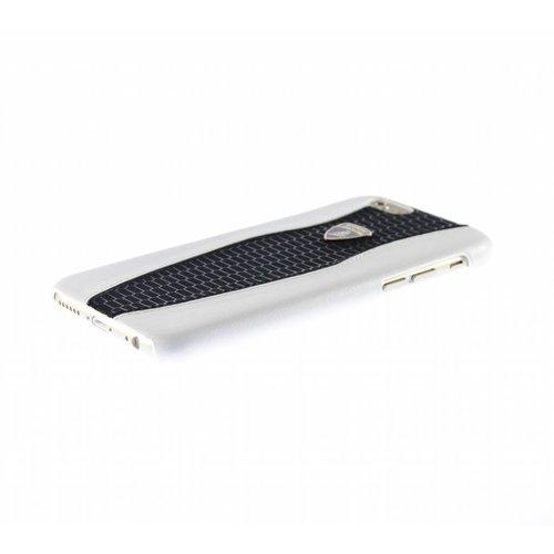 Automobili Lamborghini Huracan D2 Hardcase achterkant hoesje voor de Apple iPhone 6 / 6S - Zwart / Wit