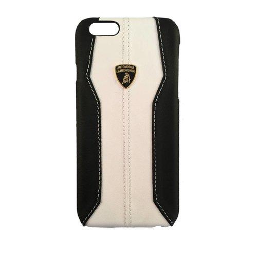 Automobili Lamborghini Huracan D1 Hardcase achterkant hoesje voor de Apple iPhone 6 / 6S - Zwart / Wit