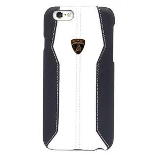 Huracan D1 Hardcase achterkant hoesje voor de Apple iPhone 6 / 6S - Zwart / Wit