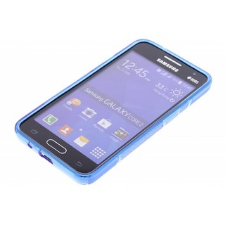 Samsung Galaxy Core 2 siliconen S-line (gel) achterkant hoesje - Blauw