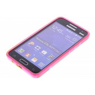 Samsung Galaxy Core 2 siliconen S-line (gel) achterkant hoesje - Rood
