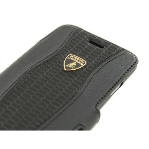 Automobili Lamborghini Huracan D2 Bookcase hoesje voor de Samsung Galaxy S6 - Zwart
