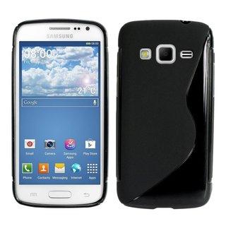 Samsung Galaxy Express 2 G3815 siliconen S-line (gel) achterkant hoesje - Zwart