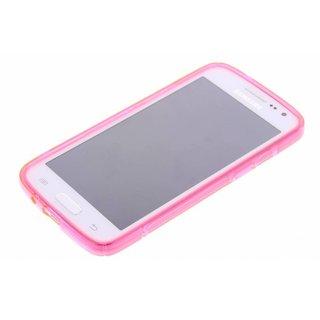 Samsung Galaxy Express 2 G3815 siliconen S-line (gel) achterkant hoesje - Roze