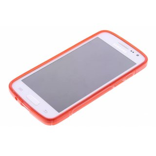 Samsung Galaxy Express 2 siliconen S-line (gel) achterkant hoesje - Rood
