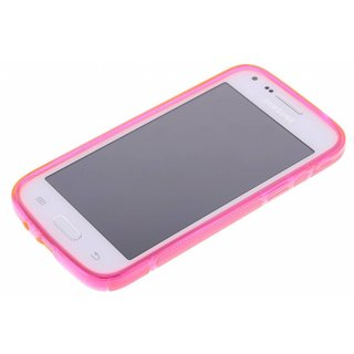 Samsung Galaxy Core Plus siliconen S-line (gel) achterkant hoesje - Roze