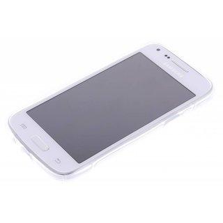 Samsung Galaxy Core Plus siliconen S-line (gel) achterkant hoesje - Transparant