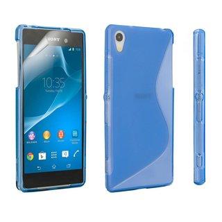 Sony Xperia Z2 siliconen S-line (gel) achterkant hoesje - Blauw