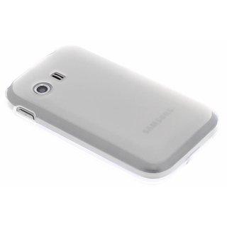 Samsung Galaxy Y siliconen (gel) achterkant hoesje - Transparant