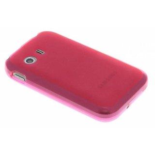 Samsung Galaxy Y siliconen (gel) achterkant hoesje - Rood