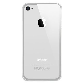 iPhone 4G/4S siliconen S-line (gel) achterkant hoesje - Transparant