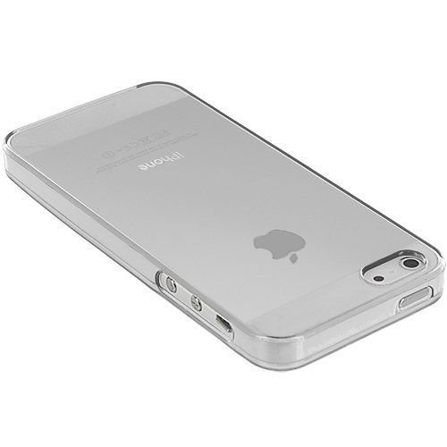 Apple iPhone 5G/5S siliconen S-line (gel) achterkant hoesje - Transparant