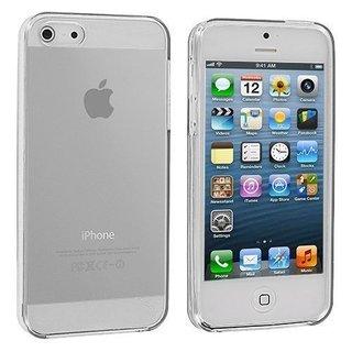 Apple iPhone 5G/5S siliconen S-line (gel) achterkant hoesje - Transparant