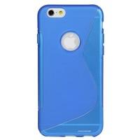 Apple iPhone 6 / 6S siliconen S-line (gel) achterkant hoesje - Blauw