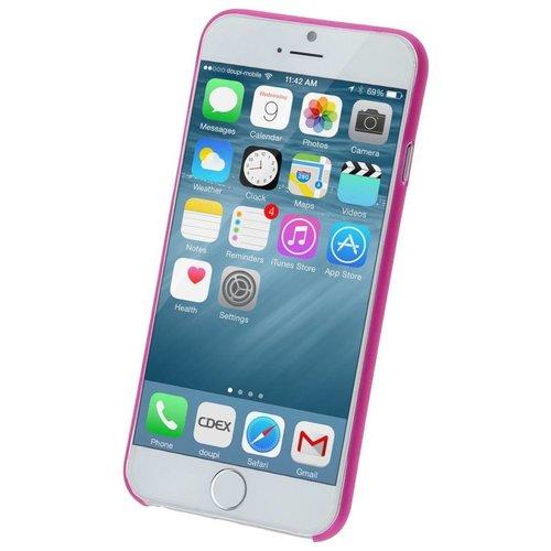 Apple iPhone 6 Plus siliconen (gel) achterkant hoesje - Roze